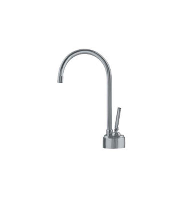 Franke LB8180 Hot Water Dispenser Faucet with Swivel Spout in Satin Nickel