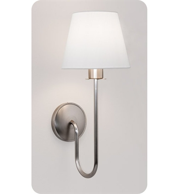 Ayre CYG1-S-WS-OB-FL Cygnus Wall Sconce Light with White Shantung Diffuser With Finish: Oil Rubbed Bronze And Lamping Type: Fluorescent