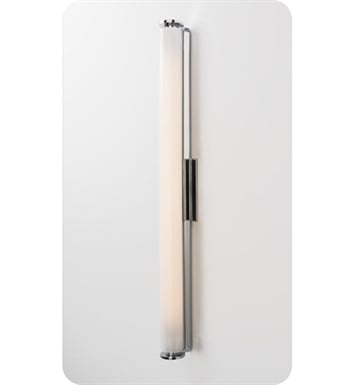"Ayre ICON24-A-MA-BN-FL Icon 24"" ADA Wall Sconce Fluorescent Light with Matte Opal Acrylic Diffuser With Finish: Brushed Nickel And Lamping Type: Fluorescent"