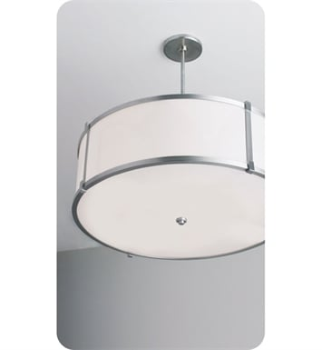 "Ayre LBP24-P-SA-OB-C-LED Litebox 24"" Customizable Pendant Light with Shiny Opal Acrylic Diffuser With Finish: Oil Rubbed Bronze And Lamping Type: LED And Crossbars: With Crossbars"