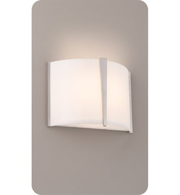 Ayre LYR1-A-SA-OB-LED Lyric Wall Sconce Light with Shiny Opal Acrylic Diffuser With Finish: Oil Rubbed Bronze And Lamping Type: LED