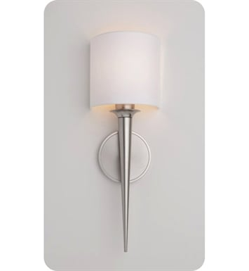 Ayre MET1-A-WS-OB-FL Metro ADA Wall Sconce Light with White Shantung Diffuser With Finish: Oil Rubbed Bronze And Lamping Type: Fluorescent