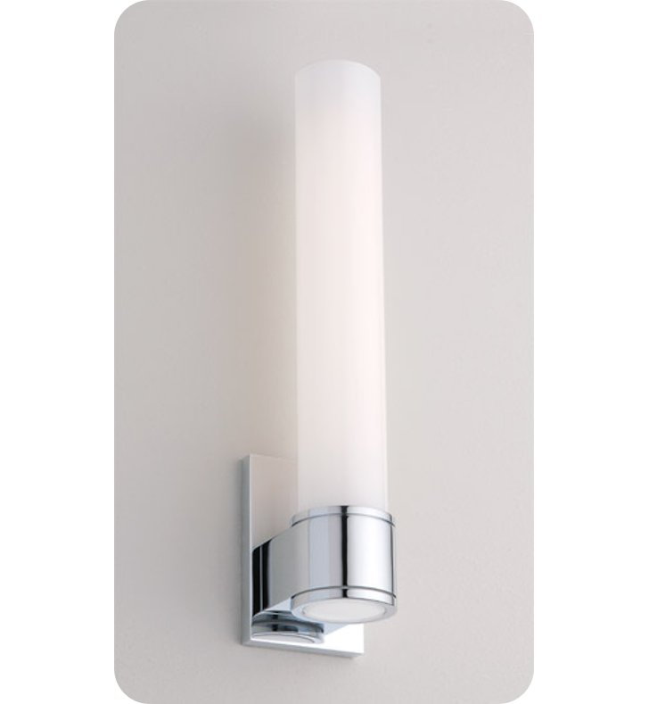 Ayre STU1-A-CS Studio Wall Sconce Light with Cased Shiny Opal Glass DIffuser