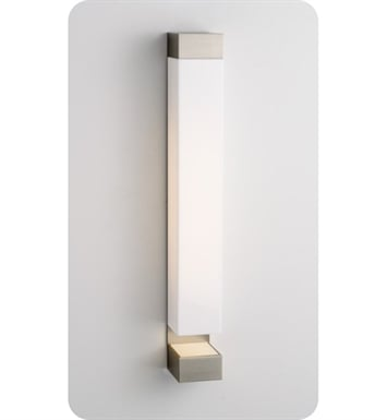 Ayre SUR1-A-MA-PN-LED Surface Wall Sconce Light with Matte Opal Acrylic Diffuser With Finish: Polished Nickel And Lamping Type: LED