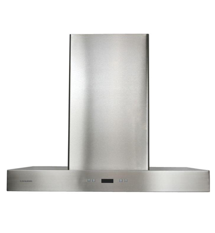 "Cavaliere SV218Z-30 218 Series 30"" Wall Mount Stainless Steel and Glass Range Hood"