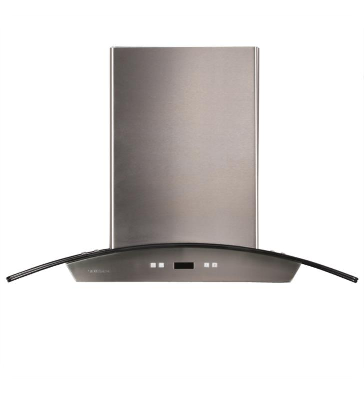 "Cavaliere SV218D-I30 218 Series 29 1/2"" Island Mount Stainless Steel and Glass Range Hood"