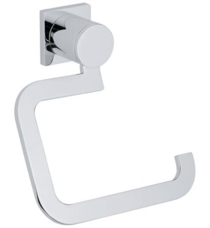 "Grohe 40279000 Allure 6 1/8"" Wall Mount Toilet Paper Holder in Chrome"