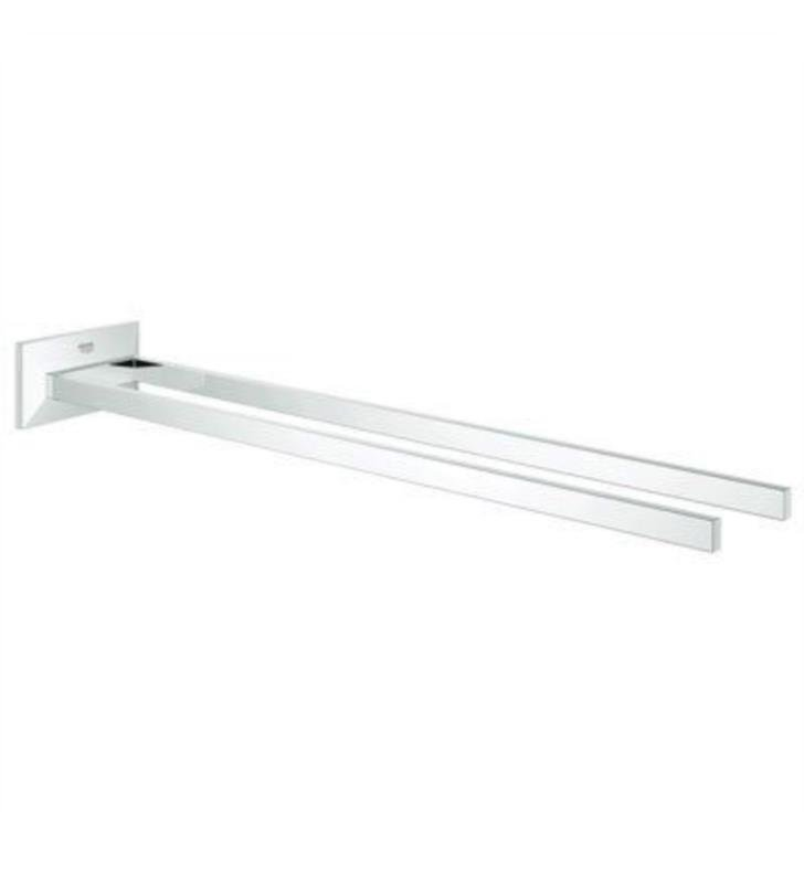 "Grohe 40496000 Allure Brilliant 3 7/8"" Wall Mount Towel bar in Chrome"