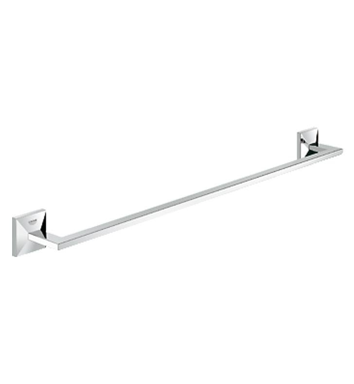 "Grohe 40497000 Allure Brilliant 25 5/8"" Wall Mount Towel Bar in Chrome"