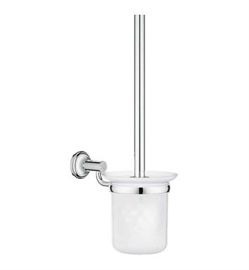 Grohe 40658000 Essentials Authentic Toilet Brush Set in Chrome