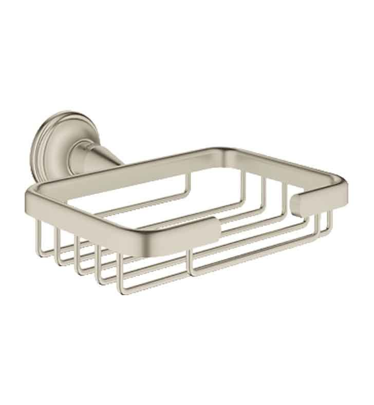 Grohe 40659EN0 Essentials Authentic Soap Basket in Brushed Nickel