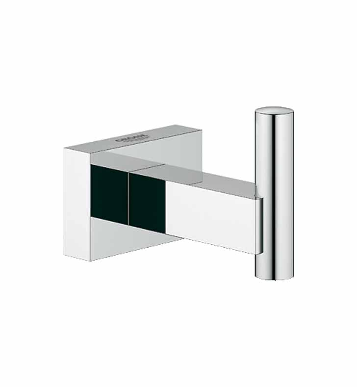 Grohe 40511000 Essentials Cube Robe Hook in Chrome