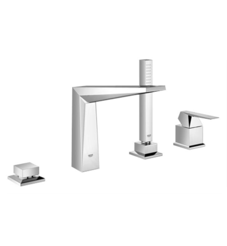 "Grohe Allure Bathroom Faucet: Grohe 19787000 Allure Brilliant 10"" Four Hole Widespread"
