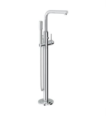 "Grohe 32135002 Atrio 11 7/8"" Floor Mounted Bathroom Tub Filler with Handshower"