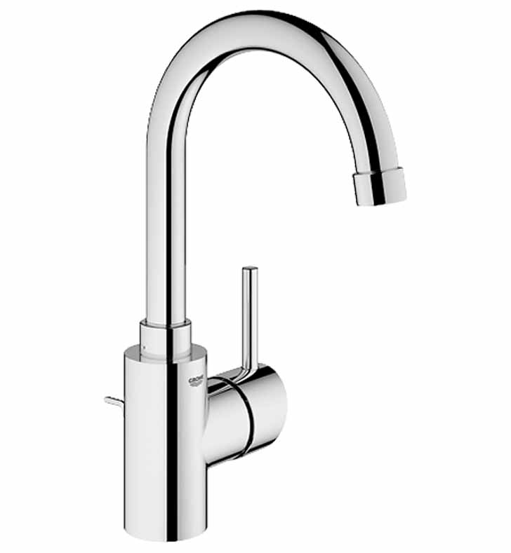 Grohe 32138EN1 Concetto Single Handle Faucet in Brushed Nickel