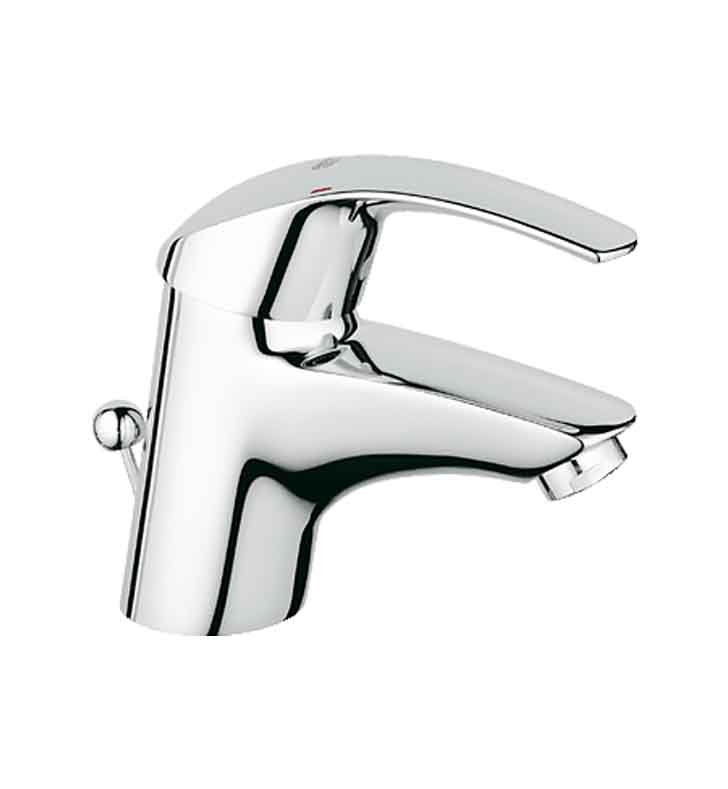 Grohe 32642001 Eurosmart Single Handle Faucet in Chrome