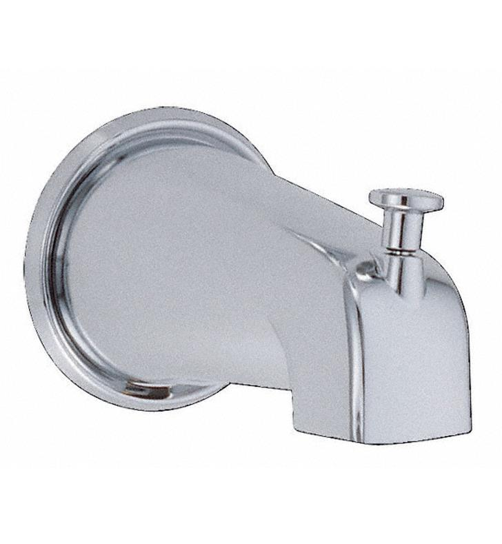 "Danze D606225BN 5"" Wall Mount Tub Spout with Diverter With Finish: Brushed Nickel"