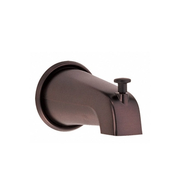 "Danze D606225RB 5 1/2"" Wall Mount Tub Spout with Diverter in Oil Rubbed Bronze"