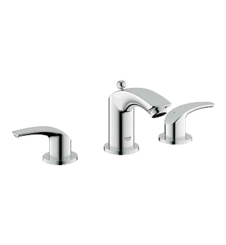 Grohe 20294000 Eurosmart Widespread Bathroom Faucet in Chrome