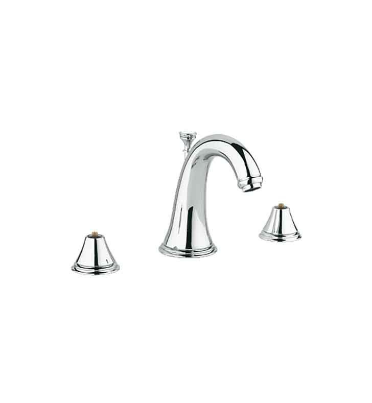Grohe 20801000 Geneva Widespread Bathroom Faucet in Chrome