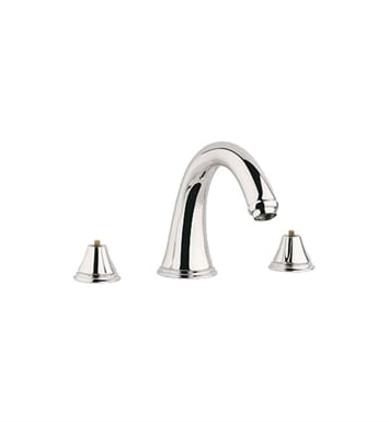 Grohe 25054BE0 Geneva Roman Tub Faucet in Polished Nickel