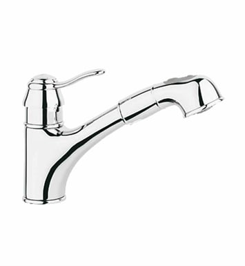 Grohe 32459000 Ashford Dual Spray Pull-Out in Chrome