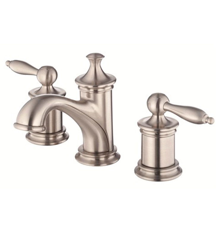 Danze D304010BN Prince™ Two Handle Widespread Lavatory Faucet in Brushed Nickel