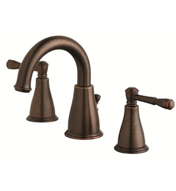 Danze D304015BR Eastham™ Two Handle Widespread Lavatory Faucet in Tumbled Bronze