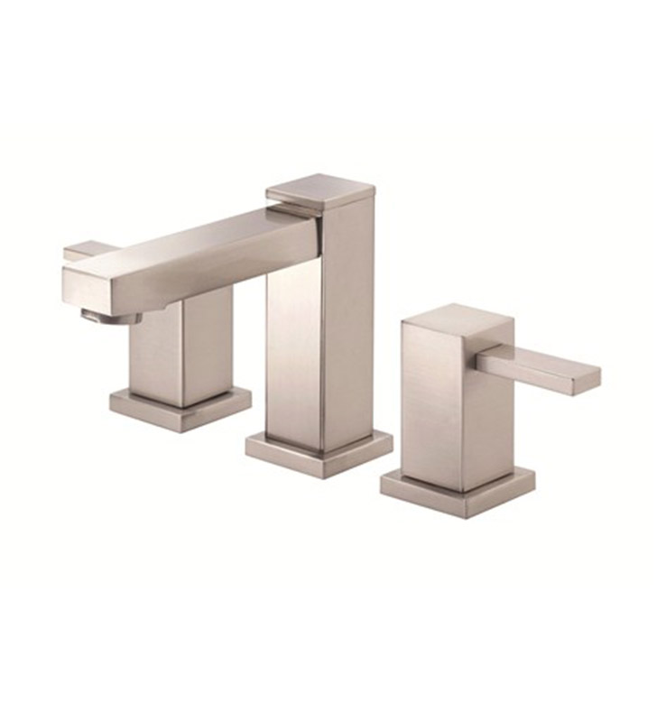 Danze D304033BN Reef™ Two Handle Widespread Lavatory Faucet in Brushed Nickel