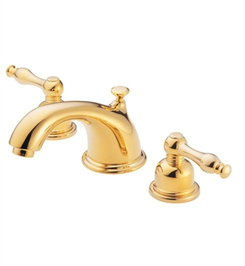 Danze D304055PBV Sheridan™ Widespread Lavatory Faucets in Polished Brass