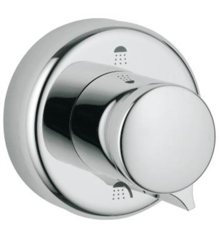 "Grohe 45433000 4"" Diverter Escutcheon in Chrome"