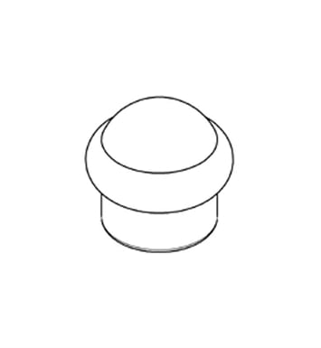 Grohe 45816R00 Talia Diverter Knob in Polished Brass