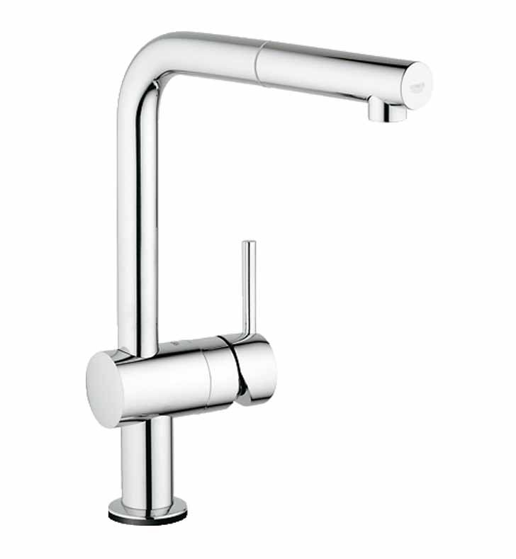 Grohe 30218000 Minta Touch Pull-Out Faucet in Chrome
