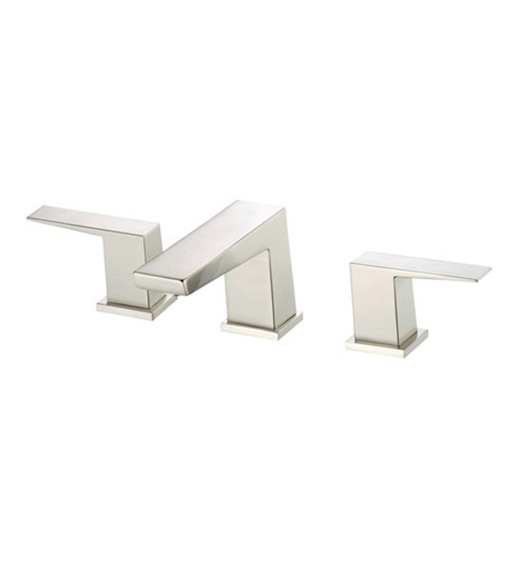 Danze D304062BN Mid-Town™ Two Handle Widespread Lavatory Faucet in Brushed Nickel