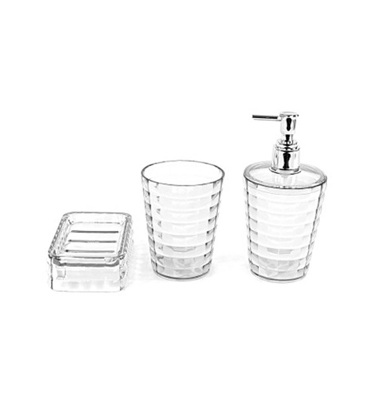 Nameeks GL200-00 Gedy Bathroom Accessory Set