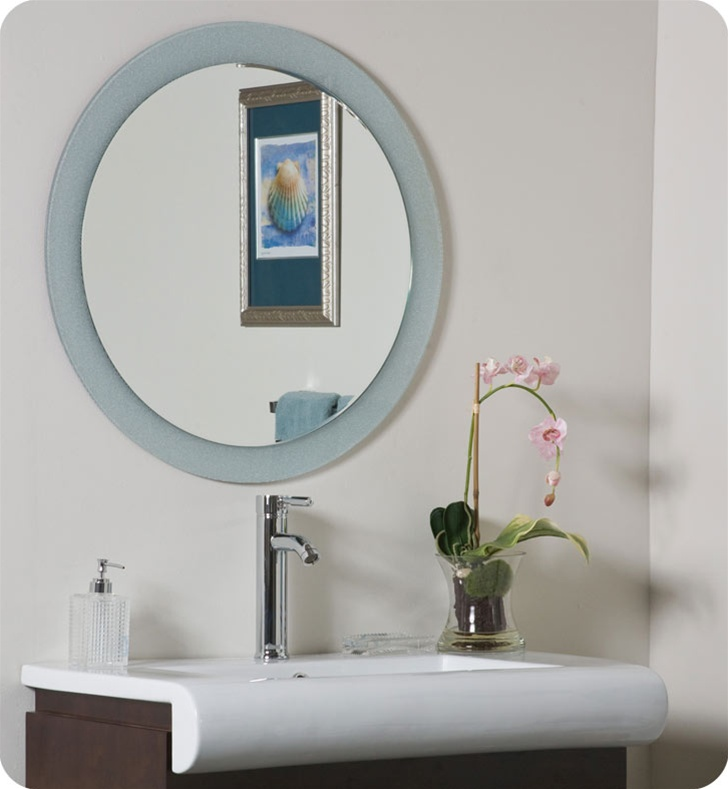 Decor Wonderland SSM5005-2 Zoe Round Wall Mirror