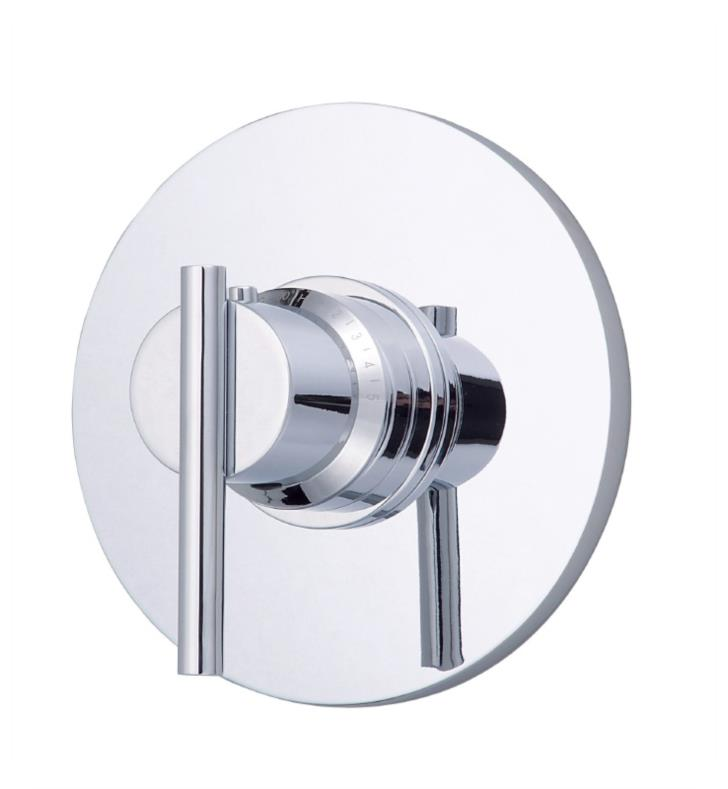 "Danze D562058BNT Parma 7 3/8"" Single Handle Thermostatic Shower Valve Trim Kit With Finish: Brushed Nickel"