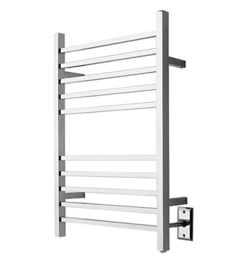 Amba RSWHB Radiant Square Hardwired Towel Warmer With Finish: Brushed