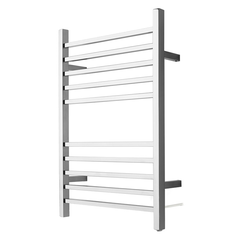 Amba RSWPP Radiant Square Plug-in Towel Warmer With Finish: Polished
