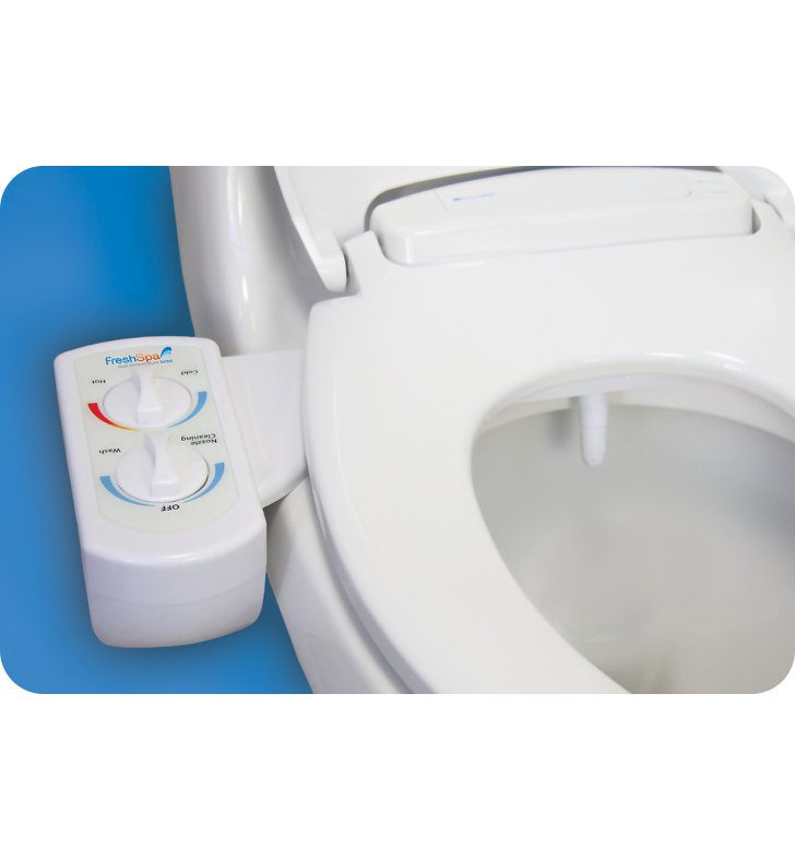 Brondell FSW-20 FreshSpa Dual Temperature Bidet Attachment