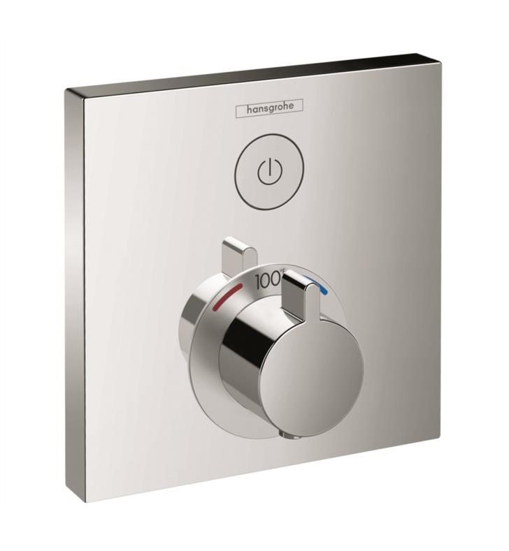 "Hansgrohe 15762 6 1/8"" ShowerSelect Thermostatic Single Function Trim"