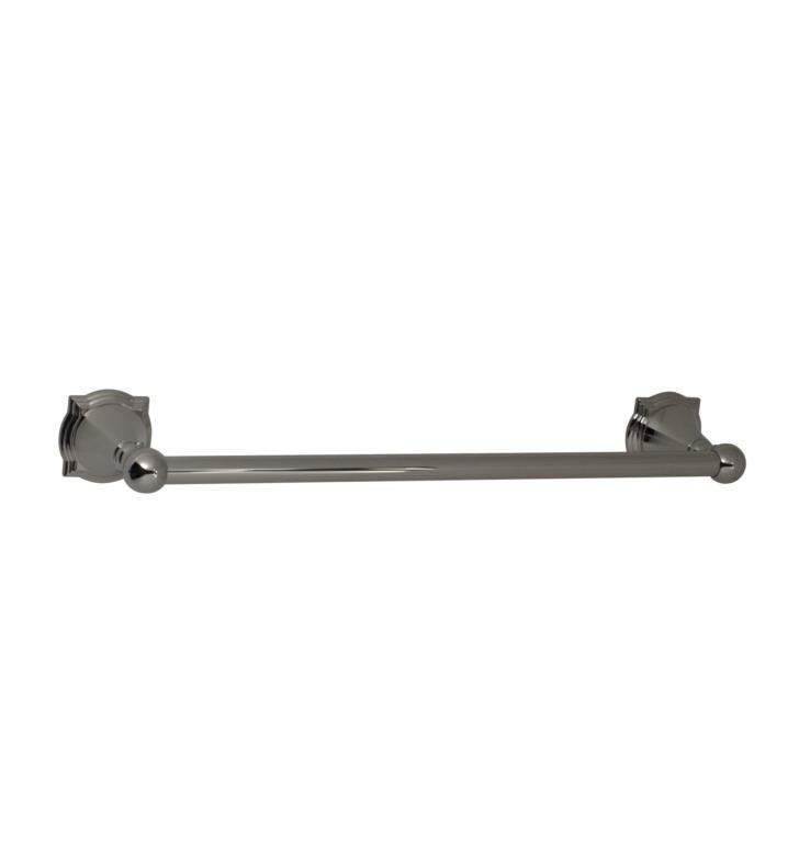 "Santec 4660BR56 Baroque 30"" Towel Bar With Finish: Bright Victorian Bronze <strong>(USUALLY SHIPS IN 4-5 WEEKS)</strong>"