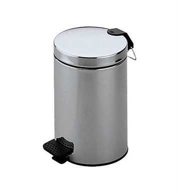 Keuco 04988070000 Plan Waste Bin With Finish: Stainless Steel