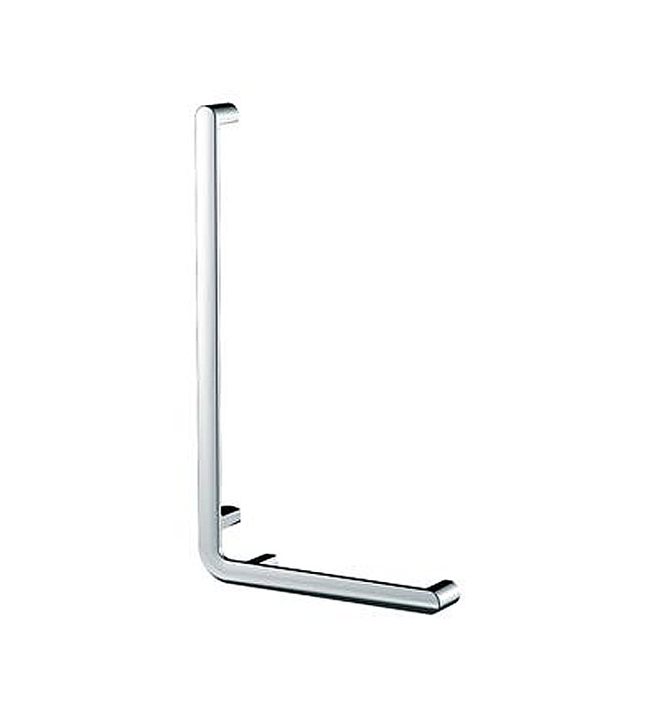 "Keuco 31606010601 ELEGANCE NEW Angle bar 90° in Chrome With Configuration: Size:W 15 7/8"" x H 27 5/8"" x D 2 5/8""  