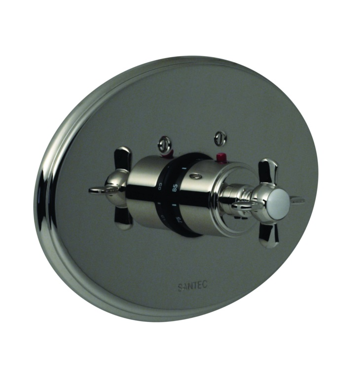 Santec 7093ET ET Style Thermostatic Control Handle with Trim Plate