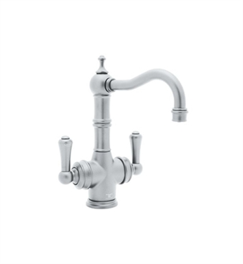 Rohl U-KIT1469-2-IB Perrin & Rowe® Traditional 2-Lever Bar-Food Prep Faucet with Filter With Finish: Inca Brass <strong>(SPECIAL ORDER, NON-RETURNABLE)</strong>