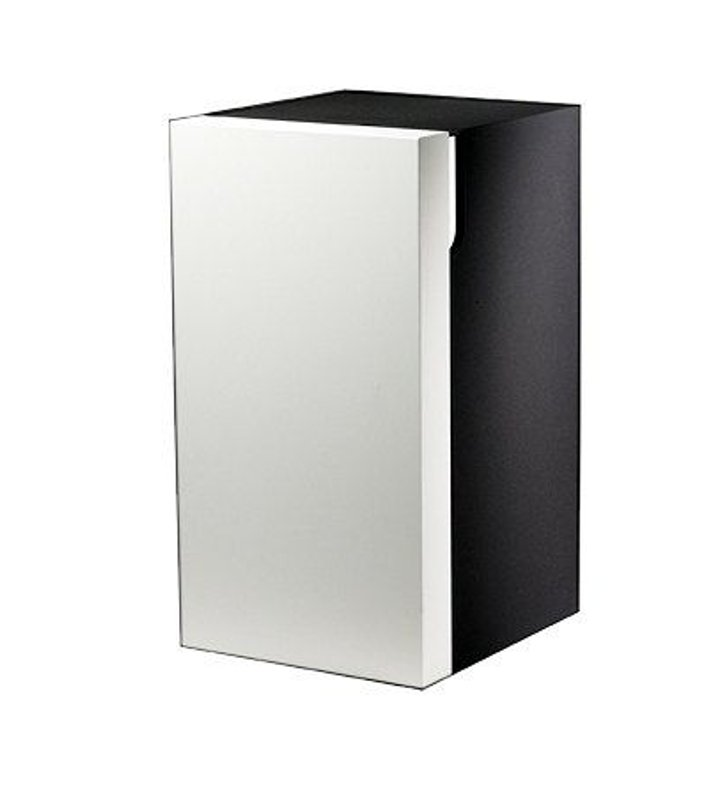 Keuco 30332399102 Edition 300 Modern Bathroom Cabinet With Configuration: Hinge: Right| Body Finish: White | Front Finish: Olive Veneer