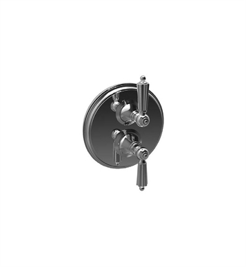 Santec 7095LL Monarch LL Style Dual Thermostatic Handle with Volume Control & Trim Plate