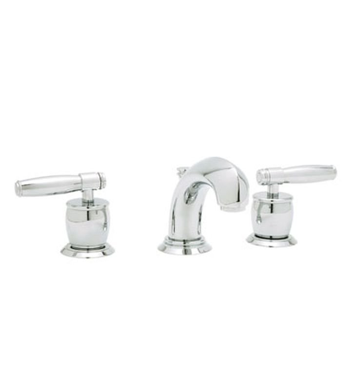 Rohl MB1929-2 Zephyr Widespread Bathroom Faucet with Pop-Up Waste