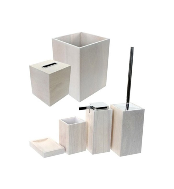 Nameeks PA1180-02 Gedy Bathroom Accessory Set